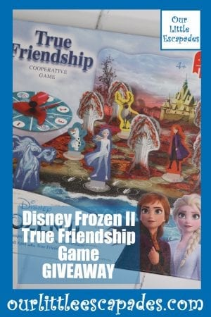 Disney Frozen II True Friendship Game GIVEAWAY