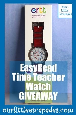 EasyRead Time Teacher Watch GIVEAWAY
