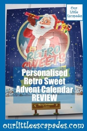 Personalised Retro Sweet Advent Calendar REVIEW