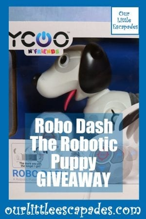 Robo Dash The Robotic Puppy GIVEAWAY