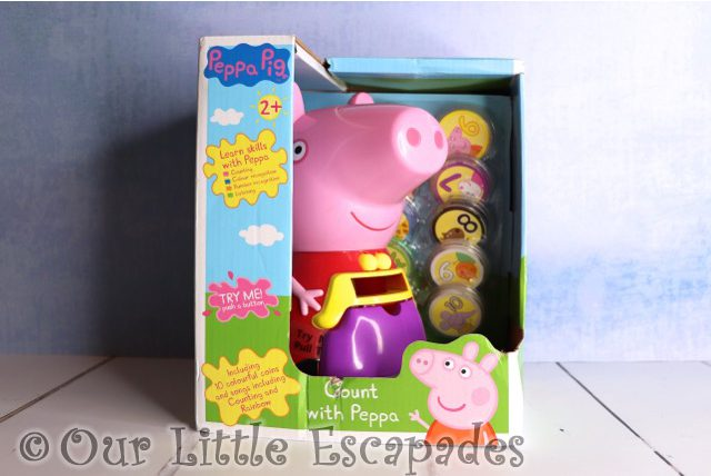 count with peppa christmas giveaway