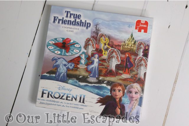 disney frozen II true friendship game christmas giveaway