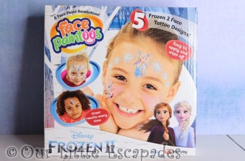 Disney Frozen II Face Paintoos GIVEAWAY