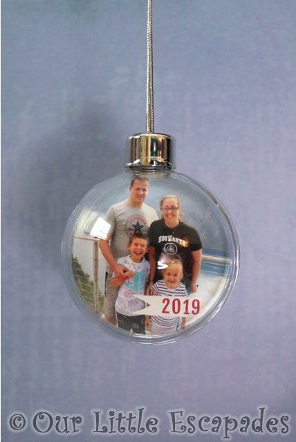 family photo eagle bend geiranger norway personalised year photo bauble personalised funky pigeon christmas gift ideas