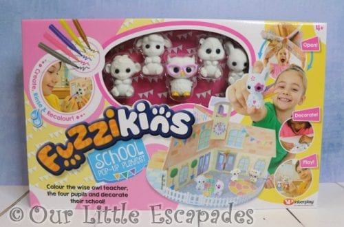 Fuzzikins - Fuzzi School Pop-up Playset GIVEAWAY