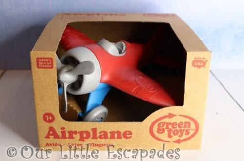 Green Toys Airplane GIVEAWAY