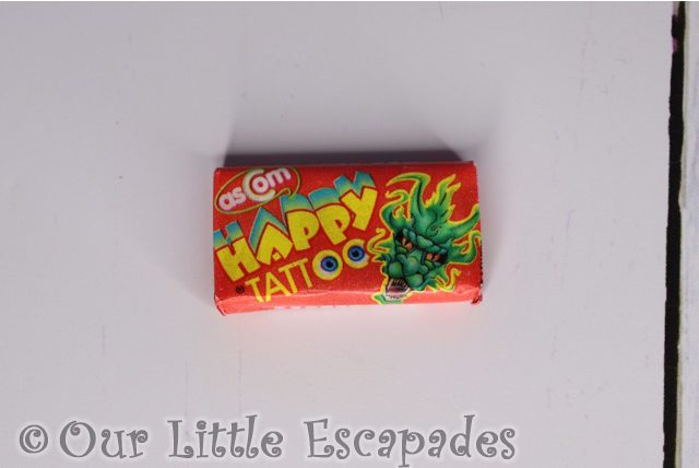 happy tattoo bubblegum retro sweet advent calendar