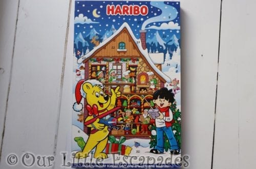 HARIBO Advent Calendar REVIEW Unboxing The Contents