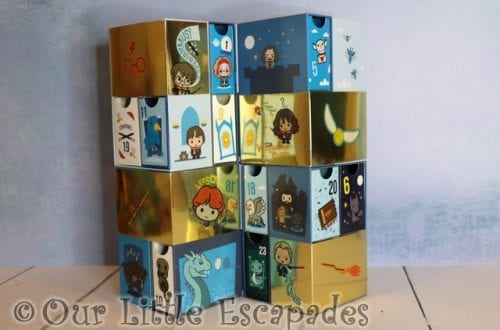 harry potter infinity advent calendar
