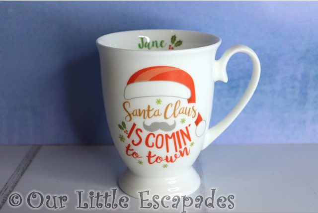 personalised santa claus is comin to town marquee mug personalised funky pigeon christmas gift ideas