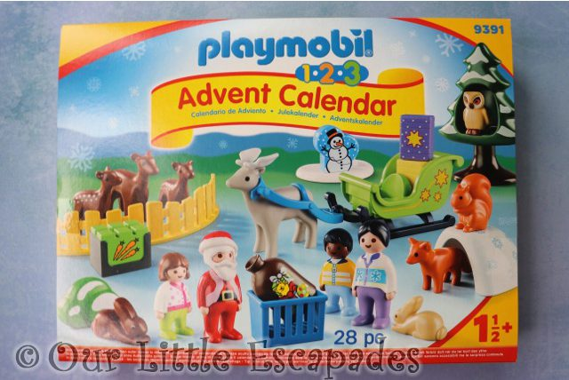 playmobil 123 advent calendar christmas forest