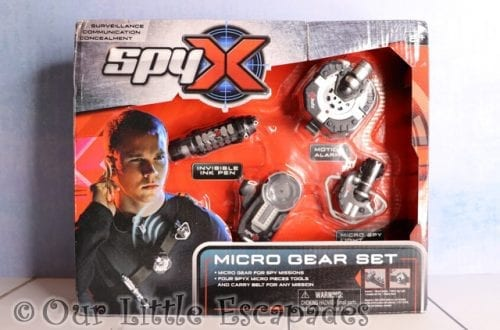 SpyX Micro Gear Set GIVEAWAY