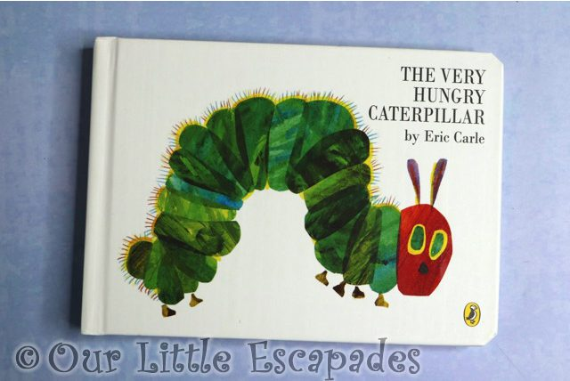 very hungry caterpillar book
