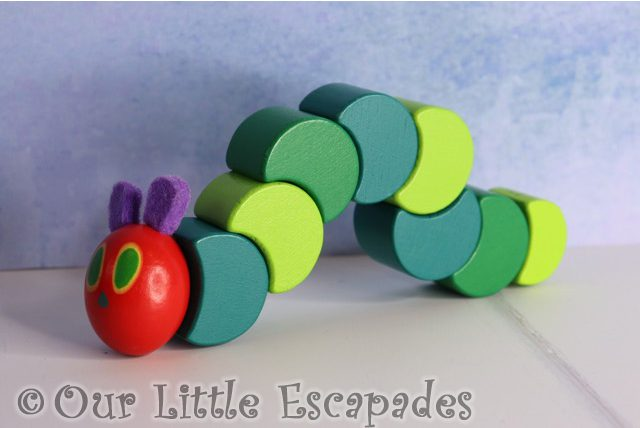 very hungry caterpillar wooden grasp twist caterpillar