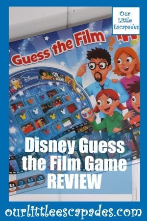 Disney Guess the Film Game REVIEW