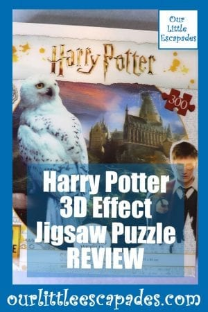 Harry Potter 3D Effect Jigsaw Puzzle REVIEW