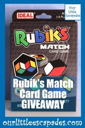 Rubiks Match Card Game GIVEAWAY