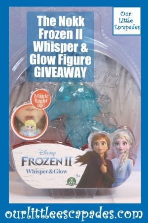 The Nokk Frozen II Whisper Glow Figure GIVEAWAY