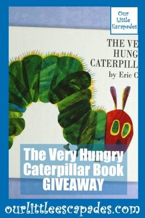 The Very Hungry Caterpillar Book GIVEAWAY