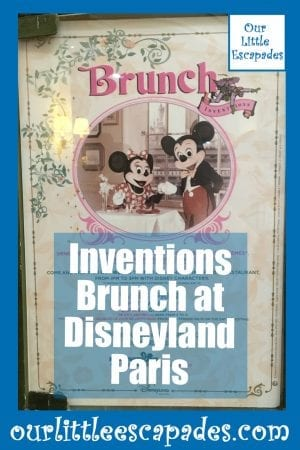 Inventions Brunch at Disneyland Paris
