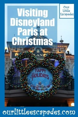 Visiting Disneyland Paris at Christmas