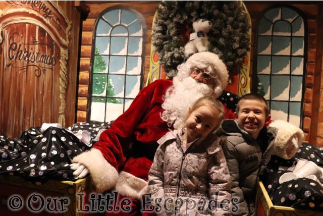 ethan little e meeting santa colchester zoo santas grotto Our Siblings In 2019