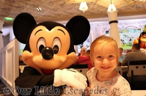 little e mickey mouse disney vip character breakfast disney magic