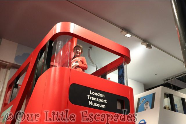 little e bus all aboard playzone london transport museum