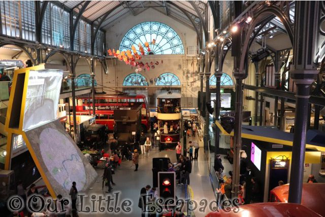 Half Term Fun At The London Transport Museum