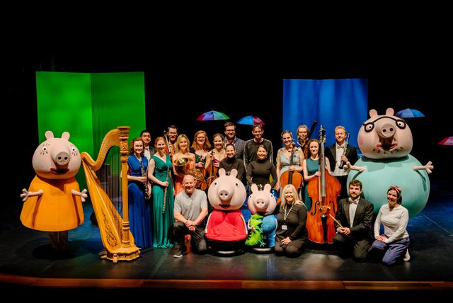 orchestra peppa pig my first concert