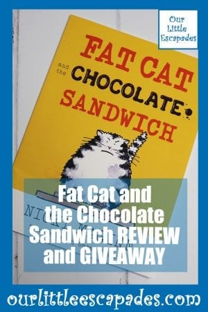 Fat Cat and the Chocolate Sandwich REVIEW and GIVEAWAY