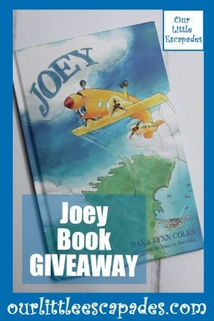 Joey Book GIVEAWAY