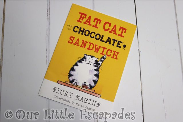 Fat Cat and the Chocolate Sandwich Book REVIEW and GIVEAWAY
