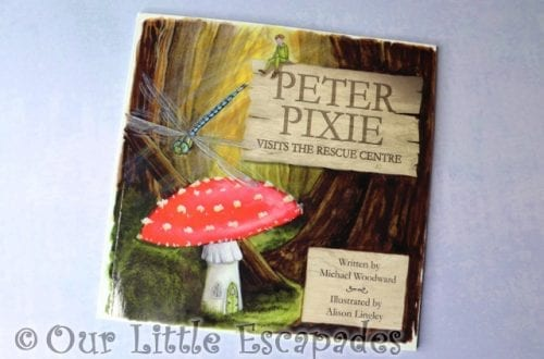 Peter Pixie Visits The Rescue Centre Book REVIEW and GIVEAWAY