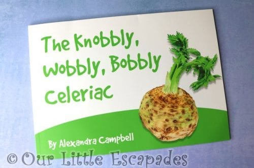 The Knobbly, Wobbly, Bobbly Celeriac Book REVIEW and GIVEAWAY