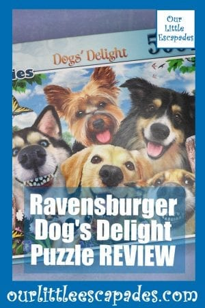 Ravensburger Dogs Delight Puzzle REVIEW