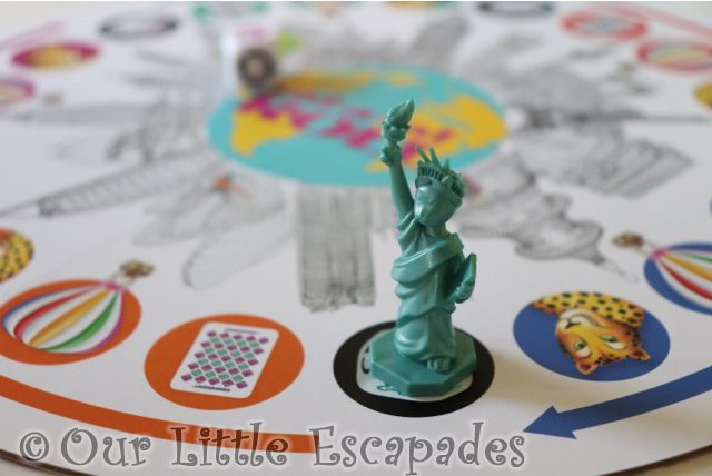 catue of liberty game board rat-a-tat roll