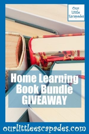Home Learning Book Bundle GIVEAWAY