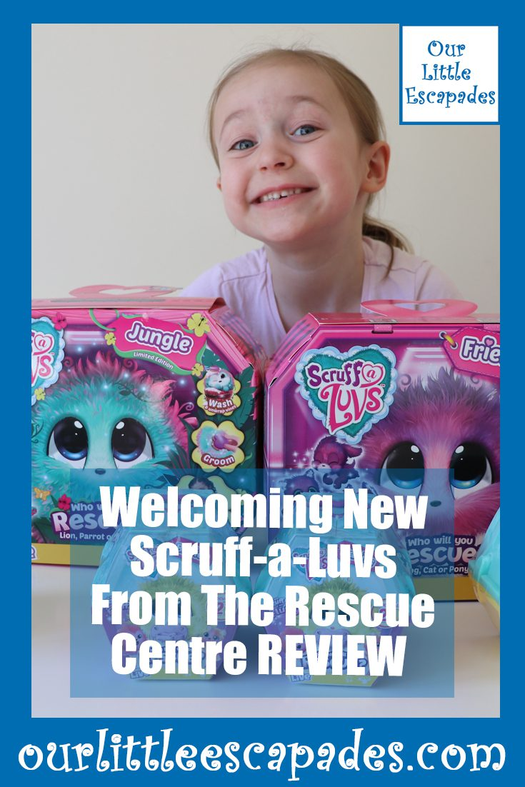 Welcoming New Scruff-a-Luvs From The Rescue Centre REVIEW