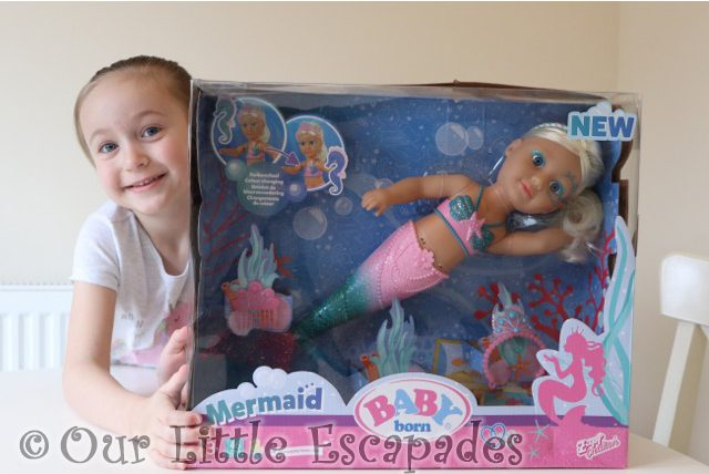 BABY born Little Sister Mermaid REVIEW