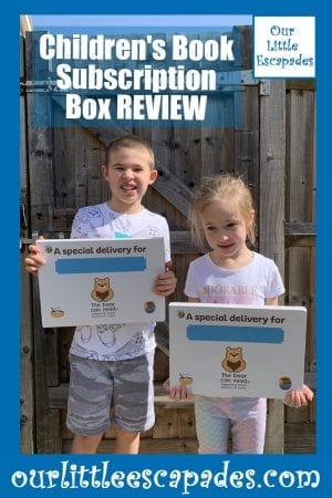 Childrens Book Subscription Box REVIEW