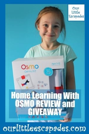 Home Learning With OSMO REVIEW GIVEAWAY
