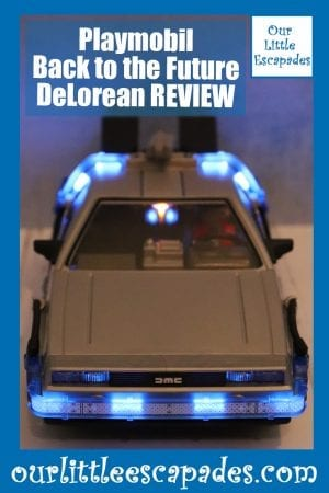 Playmobil Back to the Future DeLorean REVIEW