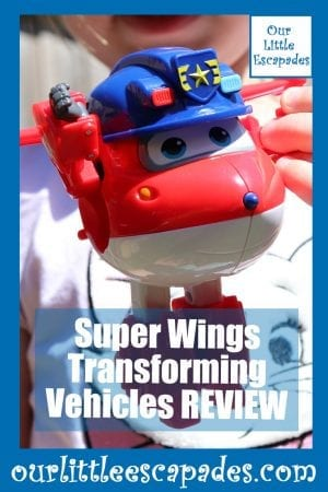 Super Wings Transforming Vehicles REVIEW
