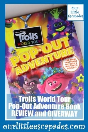 Trolls World Tour Pop Out Adventure Book REVIEW and GIVEAWAY