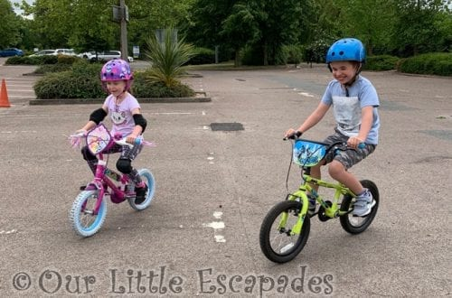ethan little e bike riding siblings may 2020