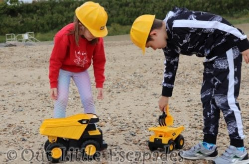 Fun With Caterpillar Construction Toys REVIEW