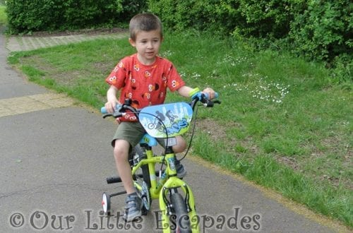 Ethan and the Bike - First Bike Rides