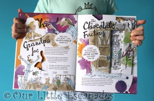 A Roald Dahl Press-Out Paper Adventure Book REVIEW and GIVEAWAY