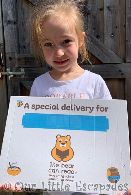 little e the bear can read childrens book subscription box